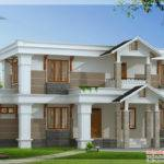 Modern Mix Sloping Roof Home Design Feet Appliance