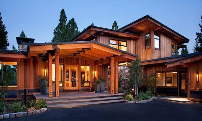 Modern Mountain Homes Exterior Home Design