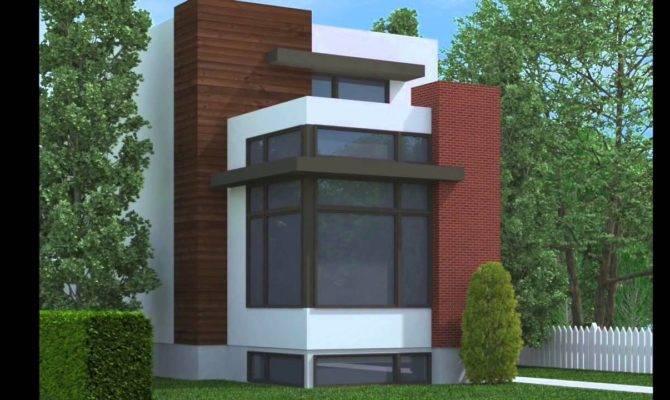 Modern Narrow Lot Plans Joy Studio Design Best