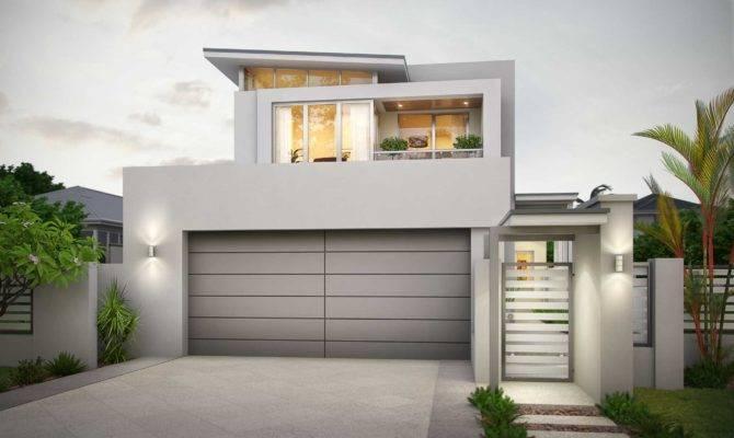 Modern Narrow Lot Storey Design Mount Pleasant