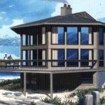 Modern Octagon House Interior Design Ideas