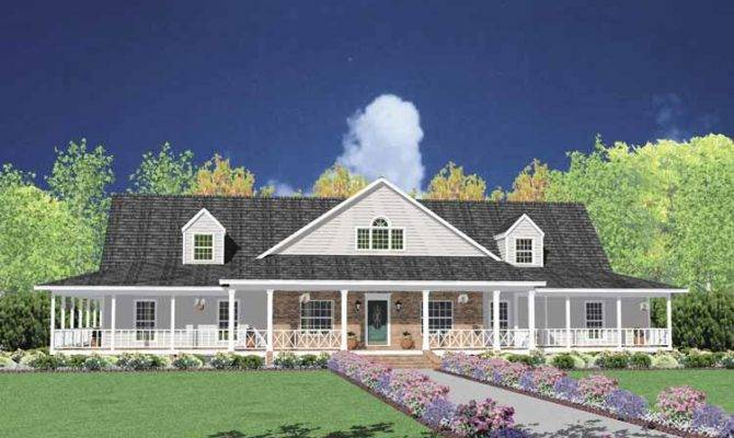 Modern One Story Farmhouse Plans House Aflfpw
