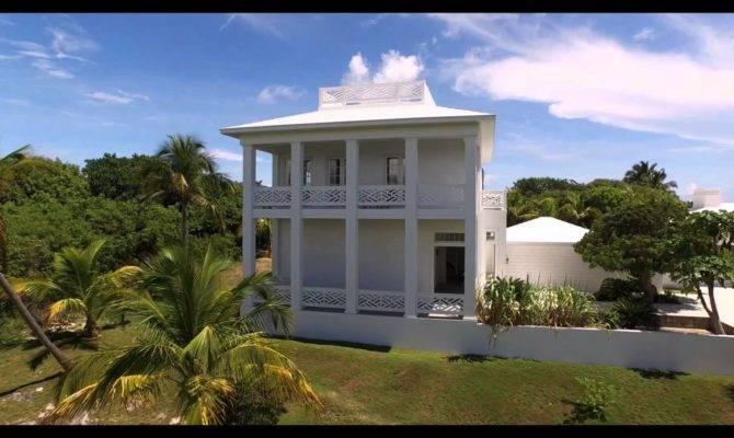 Modern Plantation Style House Hope Town Bahamas Youtube