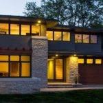 Modern Prairie Style Homes Crumbling Stone Wall Ideas