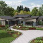 Modern Ranch Homes Plans House