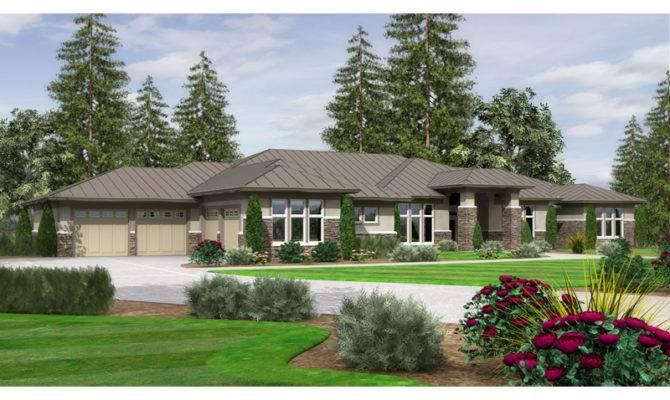 Modern Ranch House Plans Smalltowndjs