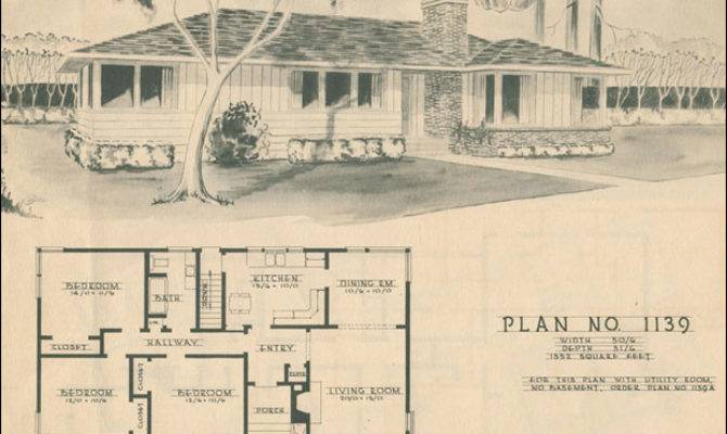 Modern Ranch Style House Plan Mid Century Home