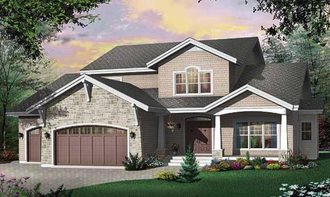 Modern Rustic House Plan Contemporary Amenities