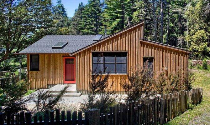 Modern Rustic Redwoods Cottage Cabin Cathy Schwabe