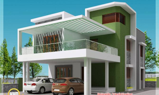 Modern Simple Indian House Design Kerala Home