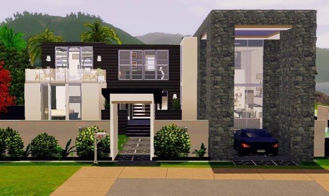 Modern Sims House Plans Lovely Mod Beach