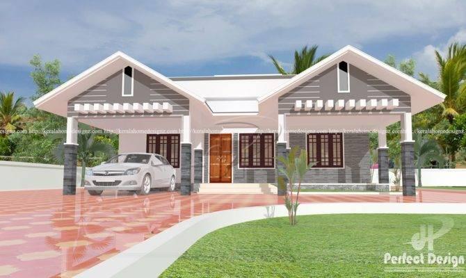 Modern Single Floor Home Design Kerala