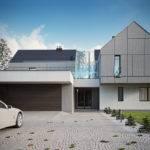 Modern Single House Behance