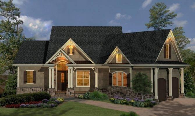 Modern Single Story Cottage Style House Plans Ideas