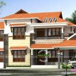 Modern Slope Roof Beautiful House Kerala Home Design Floor Plans