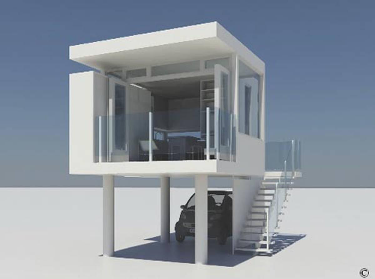 Modern Small Homes Designs   Home Plans & Blueprints   32