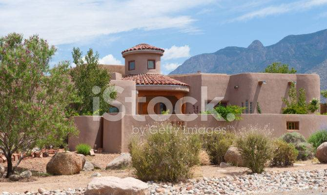 Modern Southwest Adobe House Photos Freeimages