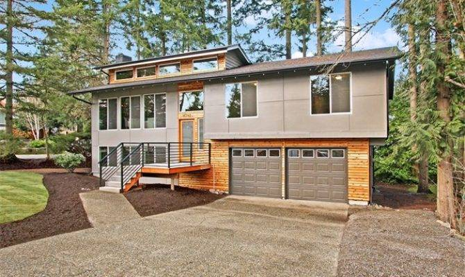 Modern Split Level Homes Design Decoration