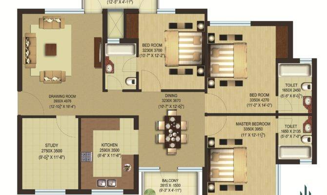 Modern Square Foot House Plans