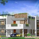 Modern Square Home Design Indian House Plans