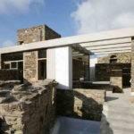 Modern Stone Brick House Along Home