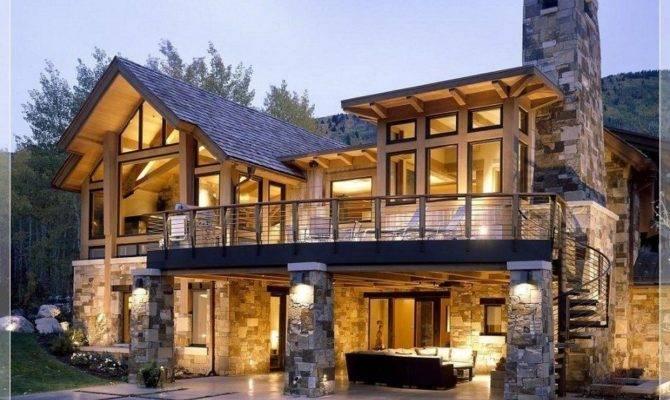 Modern Stone House Plans Lovely Stunning