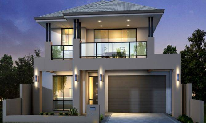 Modern Storey House Designs Plan