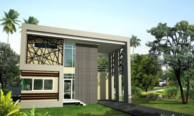Modern Storey House Designs Plan