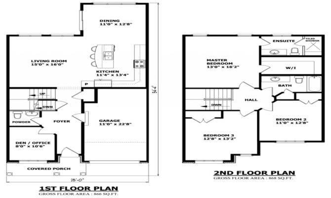 Modern Story Home Floor Plans