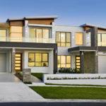 Modern Style Duplex Plans Just