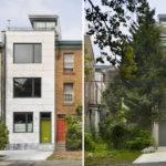Modern Townhouse Design Rooftop Garden Brett Webber Architects