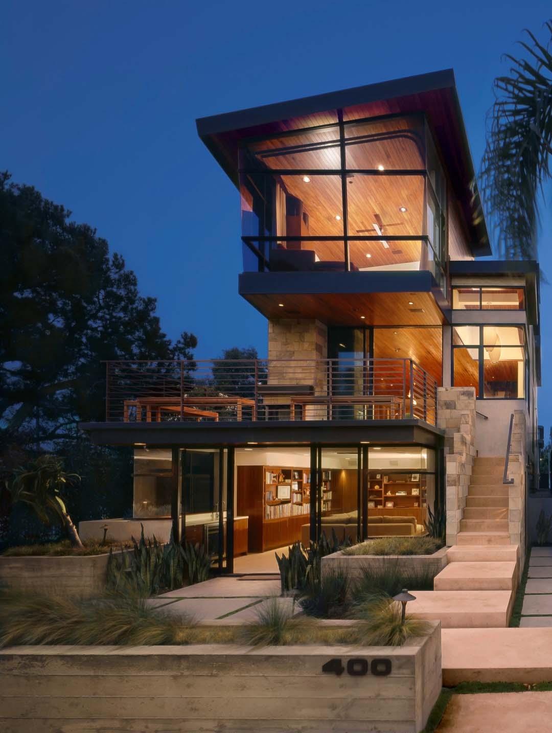Modern Tree House Built Living Manhattan Beach