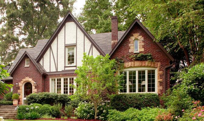 Modern Tudor House Style Get Look Traditional Home