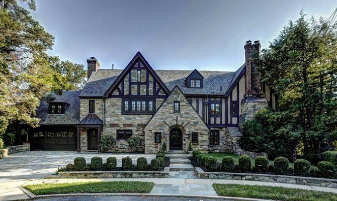 Modern Tudor House Style Home