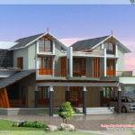 Modern Unique Villa Design Kerala Home Floor Plans