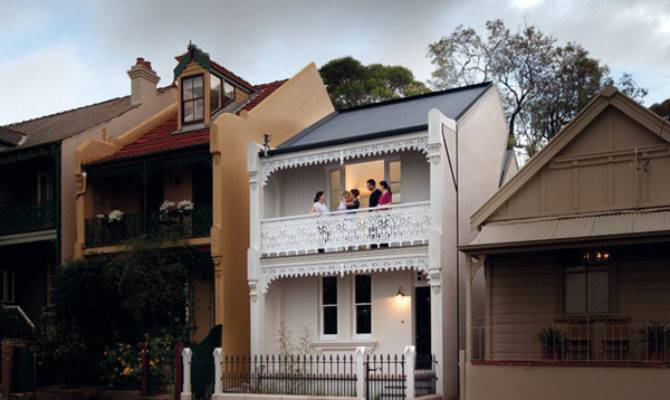 Modern Victorian House Plan Twist