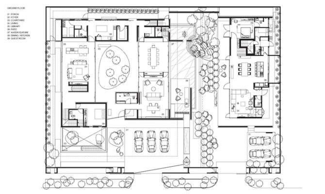 Modern Villa Design Chinese Garden Philosophy