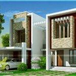 Modern Villa Design Square Feet Indian House Plans