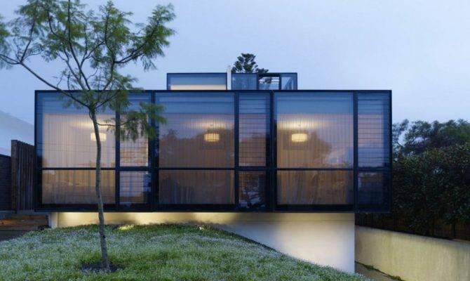 Modern Window Futuristic Building