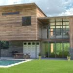 Modern Wooden House Shaderlight