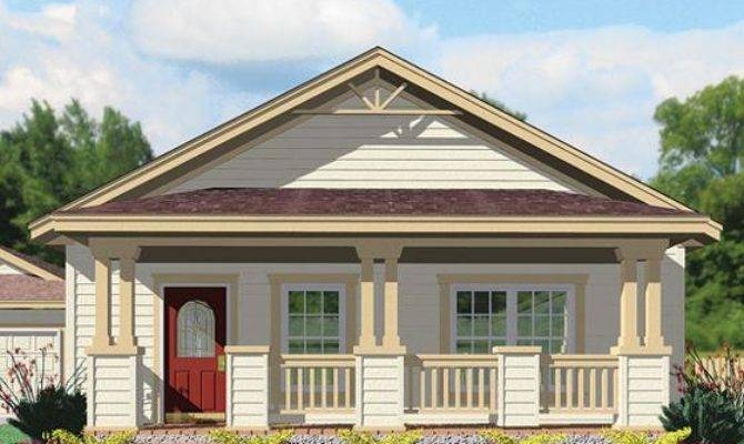 Modest Craftsman Modular Homes Architecture Bungalow