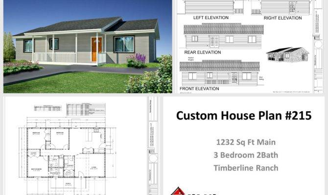 Modest Timberline Ranch House Plans Pdf Dwg