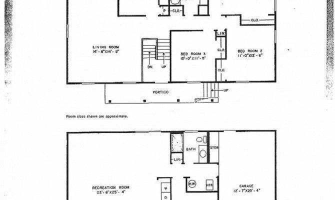 Modified Level Home Plans Luxury Defensive House