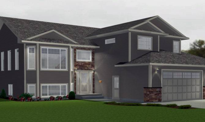 Modified Level House Plans Edesignsplans