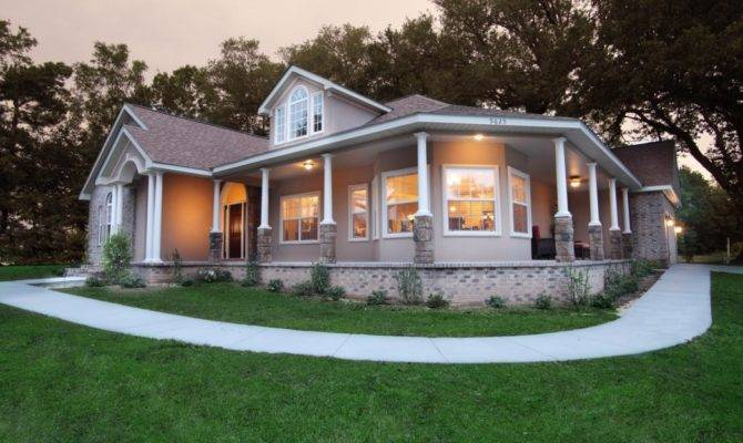Modular Homes Covered Porches Houses Wrap Around