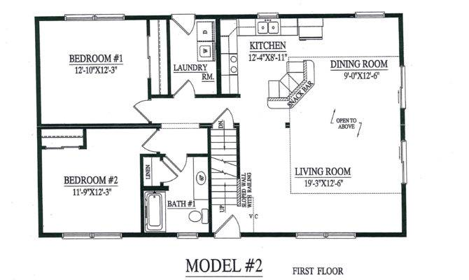 Modular Homes Open Floor Plan Good Model Cape Chalet Home