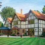 Moores Tudor Style Home Features Border Oak Frame