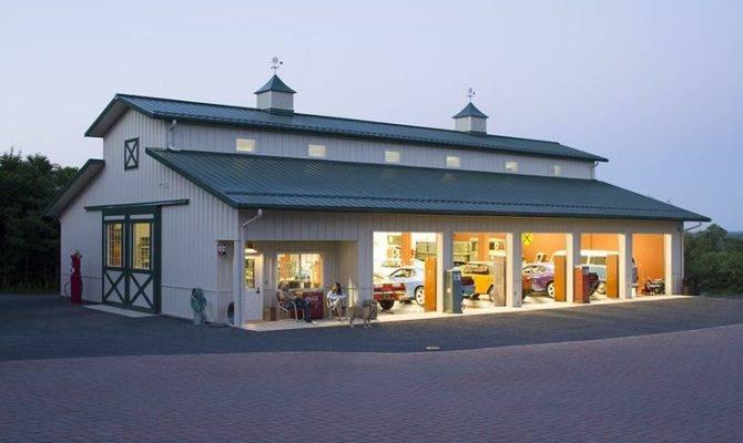 Morton Buildings Hobby Garage Garages