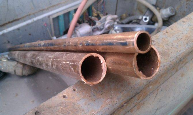 Most Common Types Copper Piping