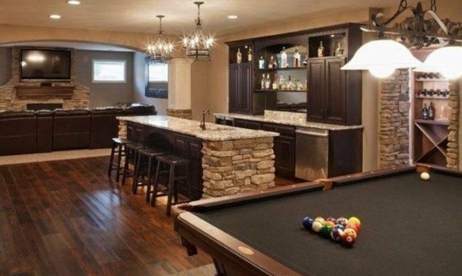Most Extravagant Basement Rec Room Ideas